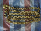 Bend hook chain with yellow galvanized