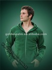 Men's soft fleece hooded kangaroo sweat shirt
