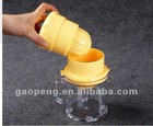 plastic citrus juicer, citrus juicer, orange juicer, plastic juicer, manual juicer, hand juicer, fruit jucier, Mini juicer
