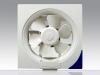 Plane wall-mounted ventilation fan