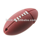 Cute Red Rugby Football USB Flash Disk Stick Drive/U Disk Built in 4GB/ 8GB/ 16GB/32GB