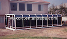 Curved roof aluminium sunrooms