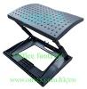 foldable ergonomic footrest for leisure