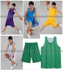 Reversible basketball jersey,fast dry fabric , mesh plain jersey