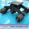 Chian semi trailer bogie axle suspension