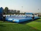 inflatable water football field
