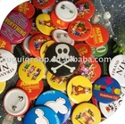 2011 newest button badges with clip