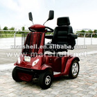 Folding 4 wheel mobility scooter for disabled people DL24800-3 with CE certificate (China)