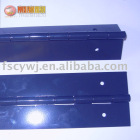 black colour heavy duty piano hinge iron material for competitive price