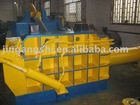 Scrap metal baling press machine