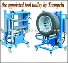auto repair and maintenance tool trolley