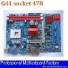 socket 478 motherboard G41 support DDR3 memory