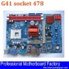 socket 478 motherboard G41 support DDR3 memory