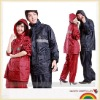 polyester reflective tape rain suit