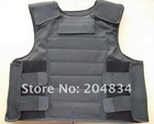 Large Size Black Color Conceal Bulletproof Vest NIJ IIIA