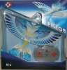 2012 New RC Toys,RC Flying Bird ,Radio Control RC Bird with Gun,LED Light,Sound,360 degrees Flying.