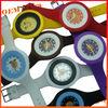 Mutli Colors Waterproof geneva quartz silicone rubber bracelet watch
