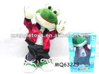 MQ63229 New item cotton doll Station dance music frog