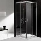 6mmTempered glass Double sliding doors shower room bathroom WD4018