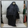 muslim products-ladies prayer clothing-dark colour long sleeves 2012
