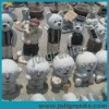Chinese Granite Stone Cartoon Carving Statues