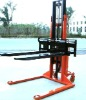 1.5T Semi Electric battery Stacker With Wide leg