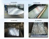 Corrugated Galvanzied Steel Sheet with 50 grams of zinc bath