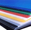 Colorized Plastic Corrugated Board