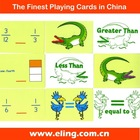 Game Card, with customized size and shape, Educational Card