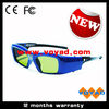 New stylish cheap 96~144 Hz rechargeable dlp link 3d glasses work for all dlp 3d projectors and TVs