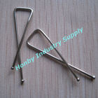 simple design 33mm stainless steel X shape garment clip