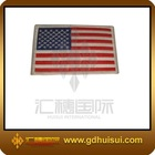high quality national flags embroidery patch