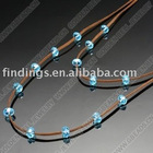 China beads Wholesale,Fashion necklace (double strings)