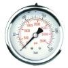 Panel Mount Stainless Steel Liquid Filled Glycerine Pressure Gauge