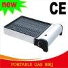 portable camping butane gas bbq grill-CE approval aluminum body ideal for camping