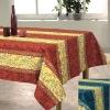 bubble Printed cotton tablecloth (home textile)