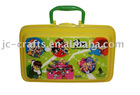 plastic lunch box with handle