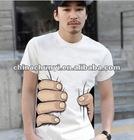 men's fashion O-neck T-shirt OEM