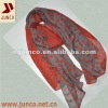 VOILE SCARF 1232 new fashion scarf,polyester printed dot long scarf