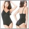 All in One Ultra Firm Control Body Shaper Bodysuit Slimming Body Briefer Black Nude