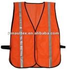 3M Reflective Tape HI VIS Orange Safety sleeveless garment