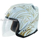 DOT open face helmet 806 1# Decal (W/G)