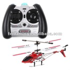 S107 Mini Red 3 Channel Infrared RC R/C Helicopter with Gyro
