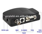 BNC to VGA video converter (TV to PC convertor),high resolution: 1920 x 1200