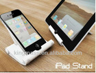 Foldable stand for iphone/ipad
