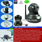 wireless network security camera with TFT card slot