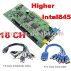16 Channel DVR card Capture Video Recorder X10