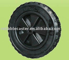 871 RP black rubber wheel