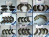 Opel corsa BRAKE SHOES, RR 96430417