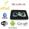"original factory Google 3.0 Android2.3 Tablet 7""Capacitive iMX515"